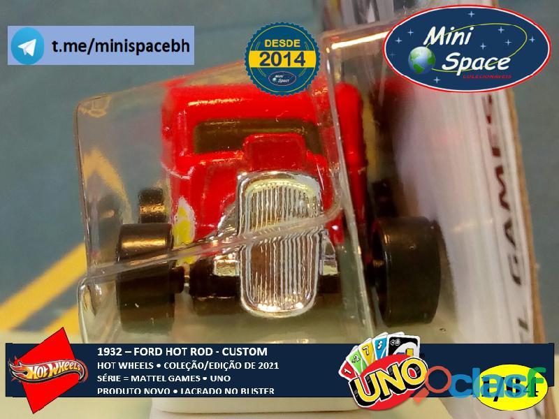 Hot Wheels 1932 Ford Hot Rod Mattel Uno 1/64 6