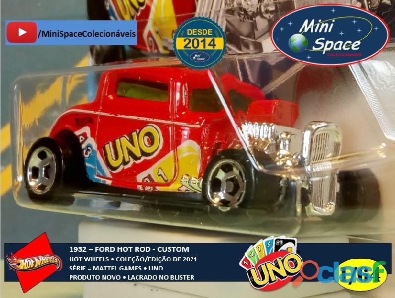 Hot Wheels 1932 Ford Hot Rod Mattel Uno 1/64 8