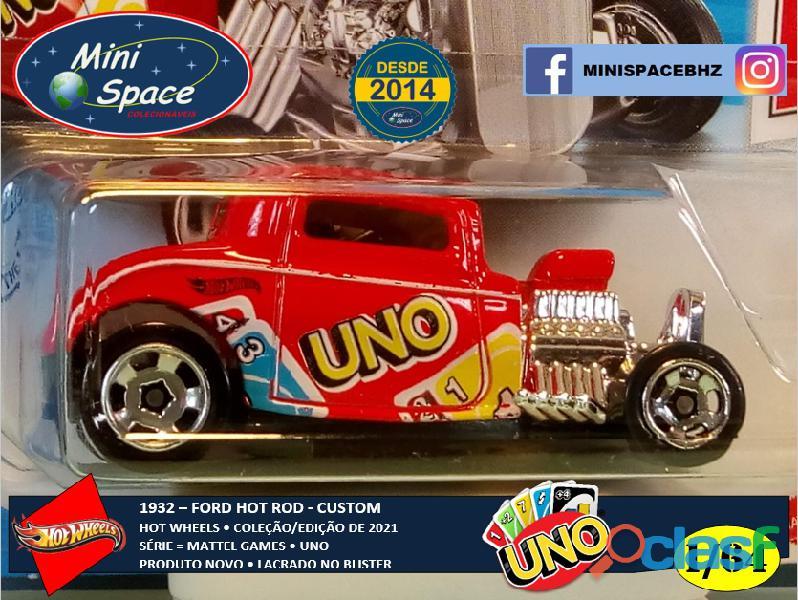 Hot Wheels 1932 Ford Hot Rod Mattel Uno 1/64 9