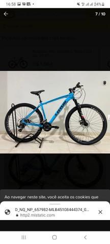 Bicicleta lotus aro 29 com nota fiscal