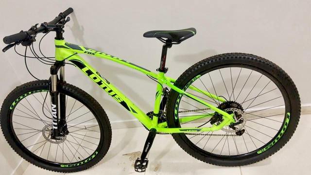 Bicicleta lotus fox, excelente, leia!