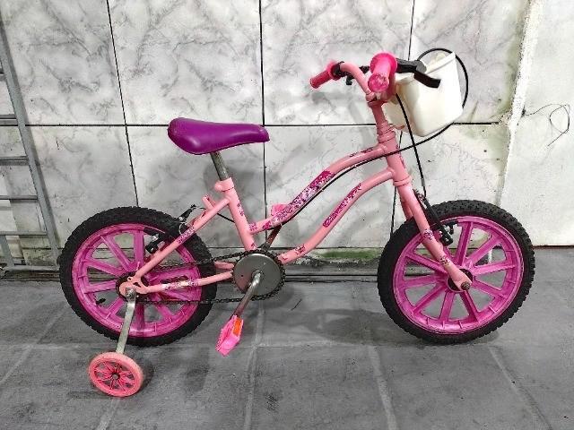 Bike feminina aro 16 usada