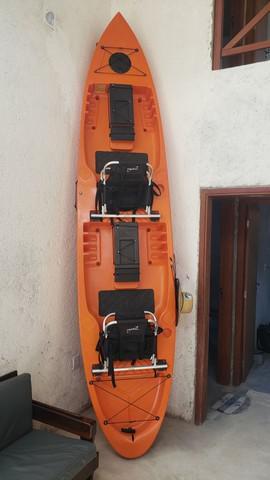 Caiaque duplo new foca com cadeiras