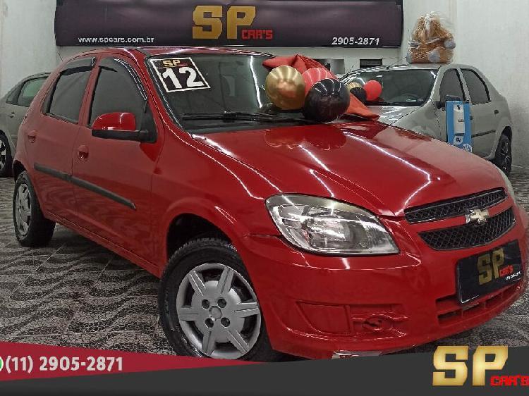 Chevrolet celta 1.0 lt 8v vermelho 2011/2012 - são paulo