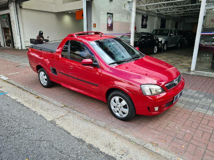 Chevrolet montana 1.8 sport 8v vermelho 2009/2010 - são