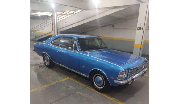 Chevrolet opala 4.1 coupê 6 cilindros 75/75 azul