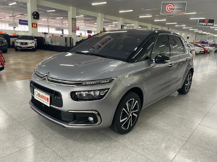 Citroën c4 picasso 1.6 intensive turbo prata 2017/2018 -