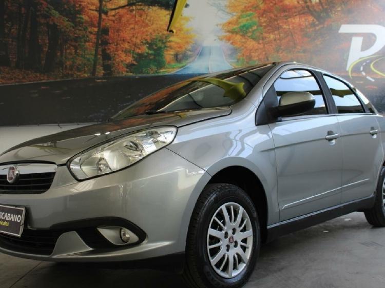 Fiat grand siena 1.4 attractive 8v cinza 2014/2014 -