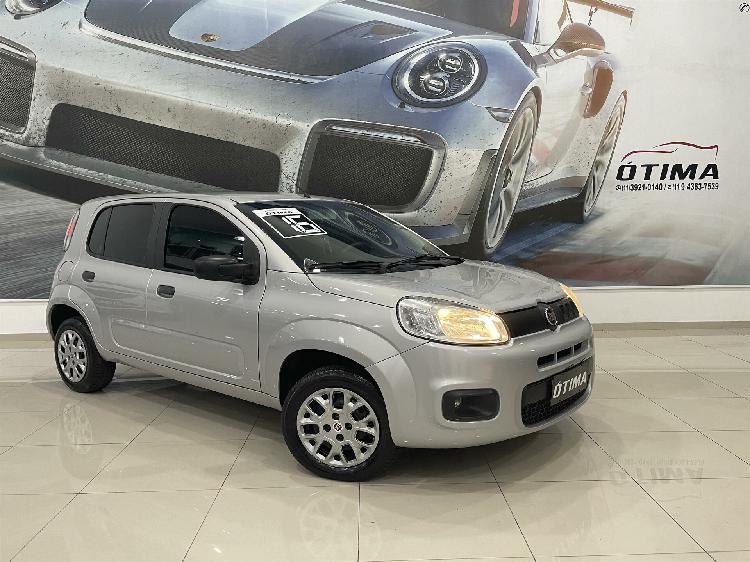 Fiat uno 1.0 evo attractive 8v prata 2016/2016 - são paulo