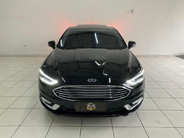 Ford fusion 2.0 titanium awd 16v preto 2016/2017 - osasco