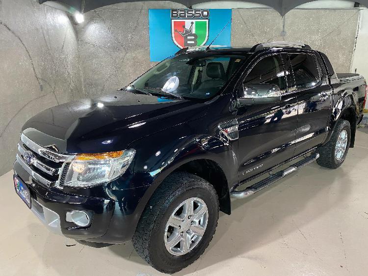 Ford ranger 3.2 limited 20v preto 2013/2014 - são paulo