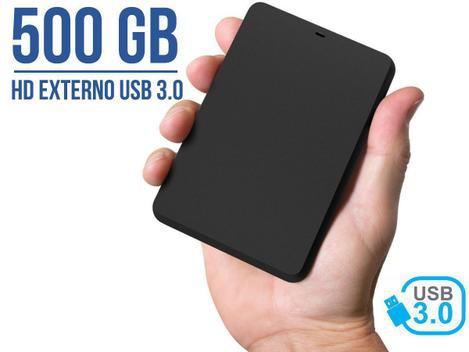 Hd externo portátil yesstech 500gb usb 3.0 usb 2.0 - hd
