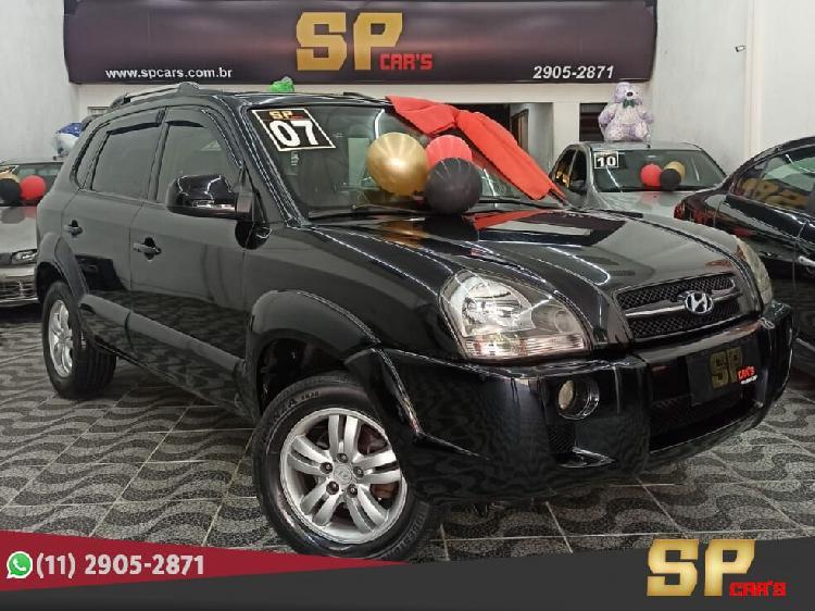 Hyundai tucson 2.7 gls preto 2008/2008 - são paulo 1451692
