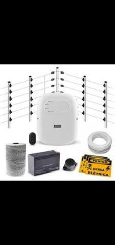 Instalação de cerca elétrica industrial.(venda e