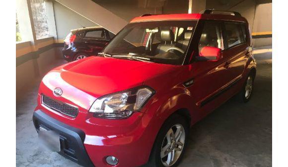 Kia soul 1.6 1.6/ 1.6 16v flex aut. 11/11 vermelho