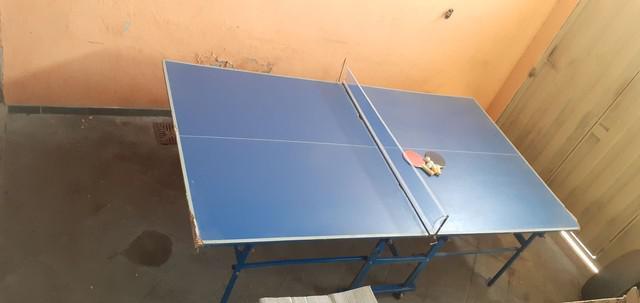 Mesa ping pong dobrável