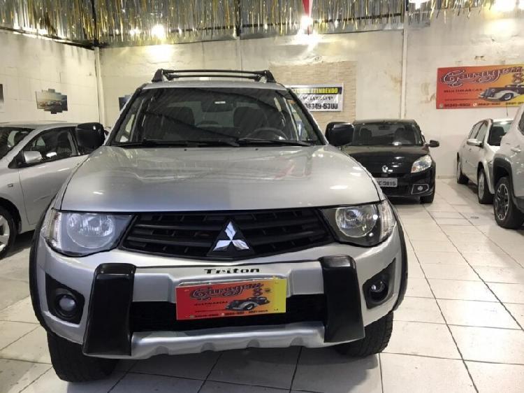 Mitsubishi l200 3.2 evolution prata 2012/2012 - osasco