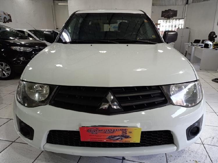 Mitsubishi l200 triton 3.2 gl branco 2017/2017 - osasco