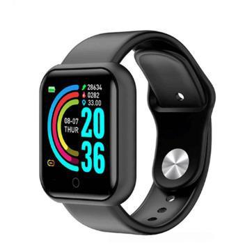 Relógio smartwatch bluetooth d20 sport monitor cardiaco