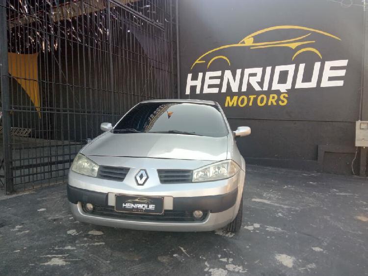 Renault mégane 1.6 dynamique 16v cinza 2010/2010 - campinas