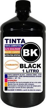 Tinta preta 1 litro compatível epson l396 l395 l380 l120