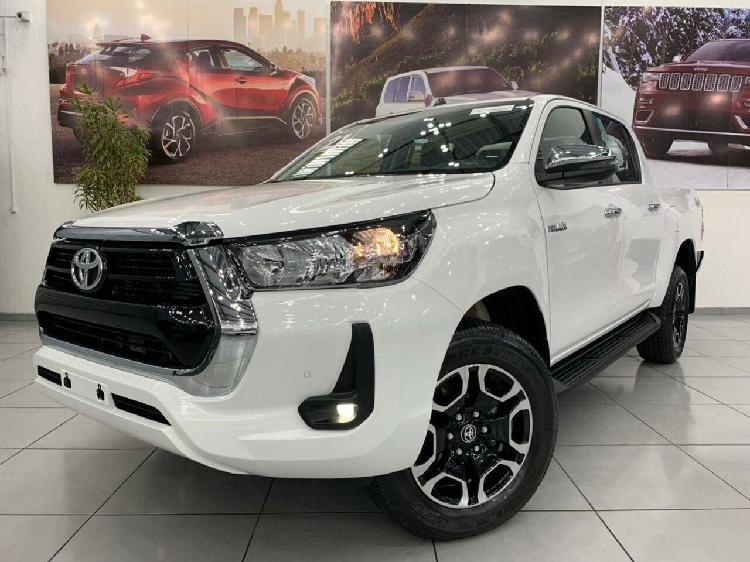 Toyota hilux 2.8 srv branco 2021/2021 - são paulo 1376910