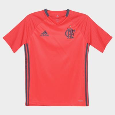 Camisa Flamengo Adidas Infantil Juvenil Treino 2016 AB9373