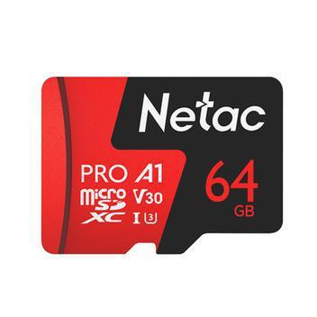 Cartão memória micro sdxc 64gb extreme pro netac -