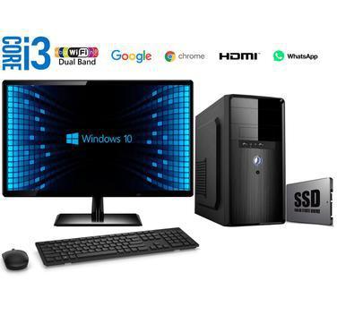 Computador Completo Intel Core i3 8GB SSD 240GB Windows 10