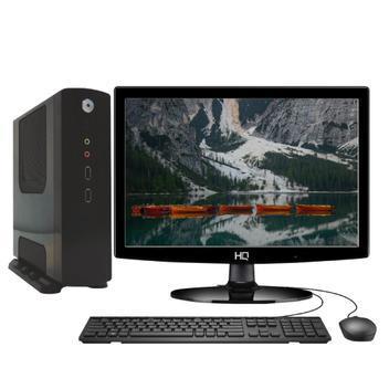 Computador completo intel dual core j1800 ram 4gb ssd 32gb