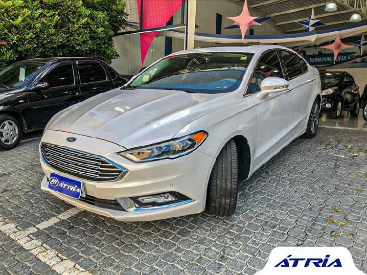 Ford fusion 2.0 titanium awd 16v branco 2017/2017 - campinas