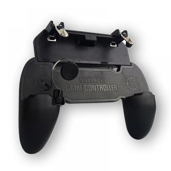 Gameplay game pad gatilho para celular suporte controle para