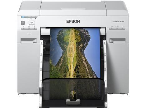 Impressora fotográfica epson surelab d870 - jato de tinta -