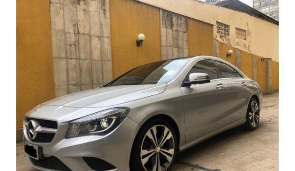 Mercedes benz cla 200 1.6 first edition 13/14 prata
