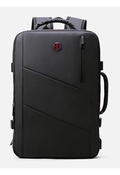 Mochila mala de mão crossgear notebook espaçosa expansiva