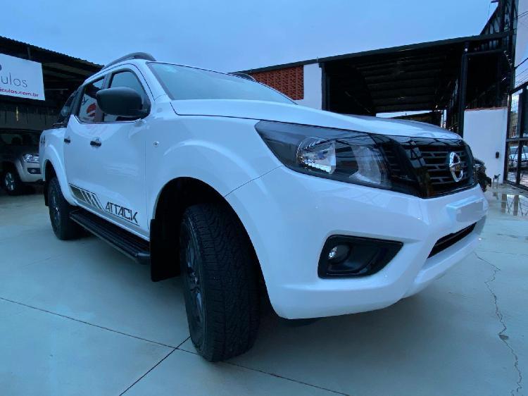 Nissan frontier 2.3 attack branco 2021/2021 - ribeirão