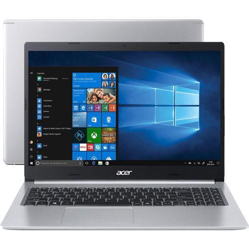 Notebook Acer Aspire 5 A515-54-587L - Prata - Intel Core
