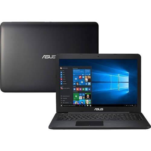 Notebook Asus Z550SA-XX001T - Preto - Intel Celeron N3160 -
