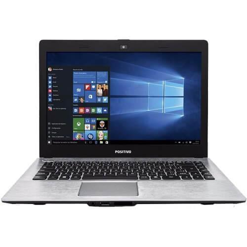 Notebook Positivo Stilo XR5500 - Cinza - Intel Pentium N3540