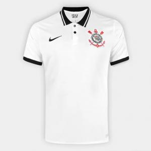 Parcelado] Camisa Corinthians I 20/21 s/n° Torcedor Nike