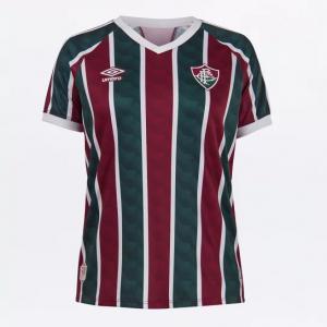 Parcelado] Camisa Fluminense I 20/21 s/n° Estádio Umbro