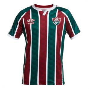 Parcelado] Camisa Fluminense I 20/21 s/n° Torcedor Umbro