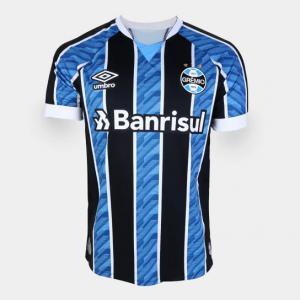 Parcelado] Camisa Grêmio I 20/21 s/n° Torcedor Umbro
