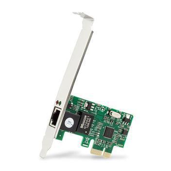 Placa rede gigabit pci-e lan ethernet 10/100/1000 rj45 -