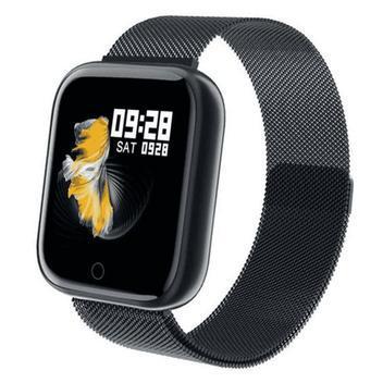 Relógio smartwatch p70 monitor cardíaco pressão arterial