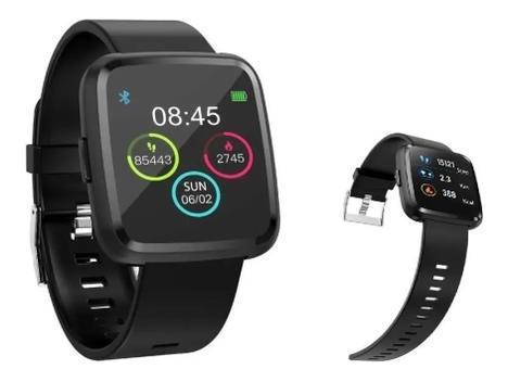 Relogio smartwatch ios android medidor pressão 32mb fitness