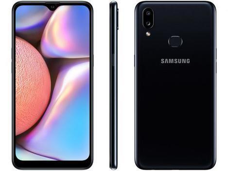 Smartphone galaxy a10s 32gb sm-a107m/ds preto - samsung -