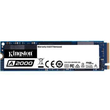 Ssd kingston 500 gb m2 a2000 -sa2000m8/500gb - ssd -