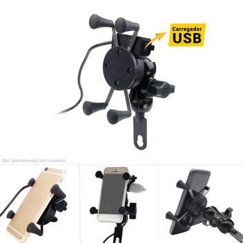 Suporte celular universal impermeável moto bicicleta com