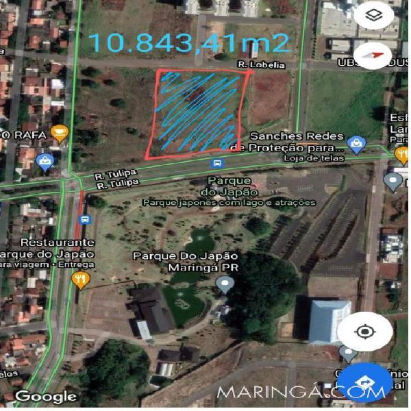 Terreno parque do japão 10843m²- oportunidade investimento